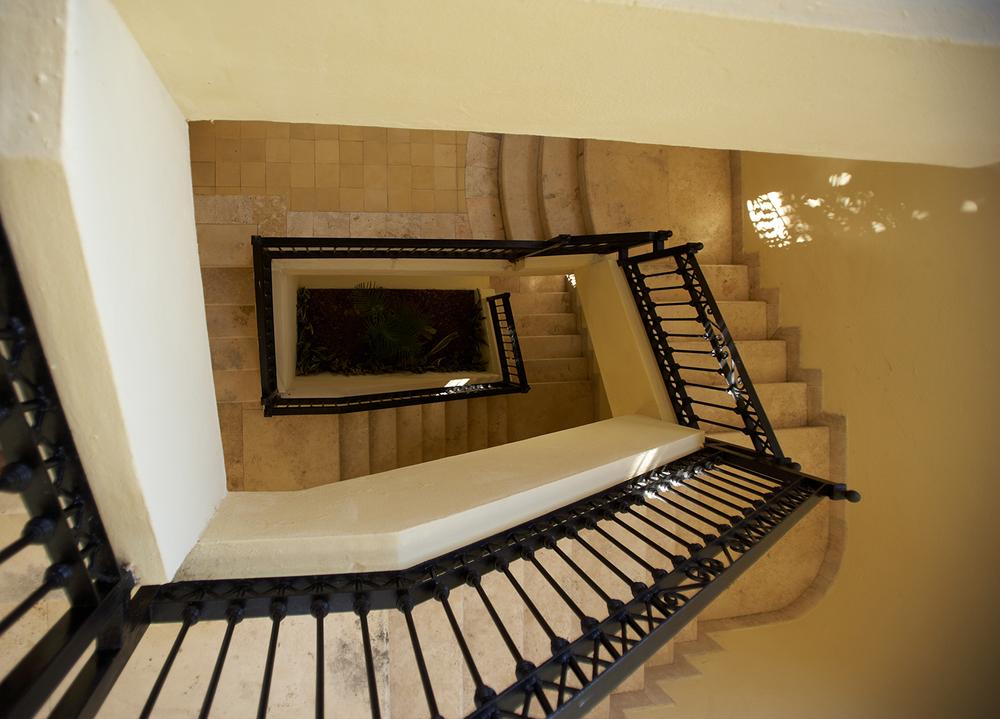 Staircase in Mazatlan