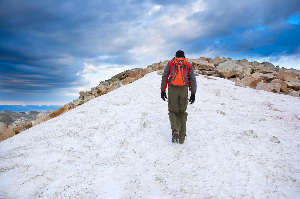Climbing Medicine Bow