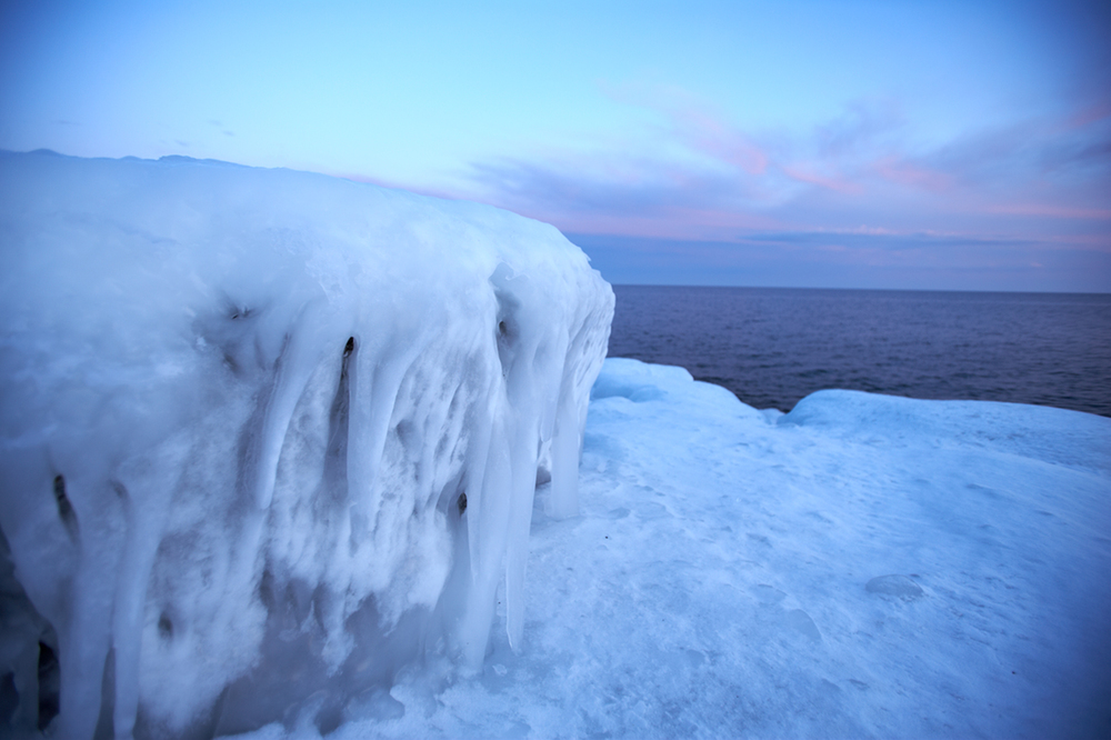 Winter on Lake Superior