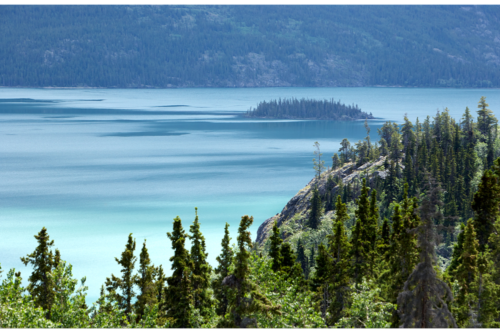 Peaceful Day at Tagish lake