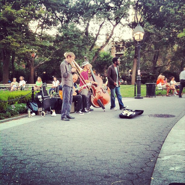 Best part of Washington Square Park! (Taken with  Instagram )