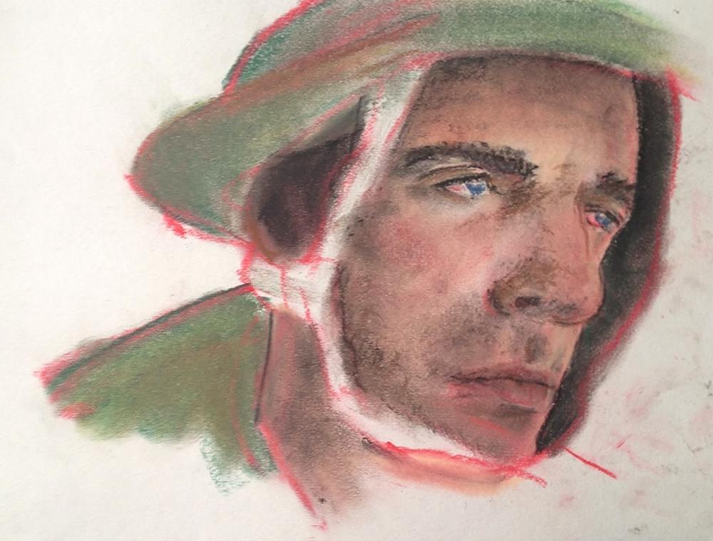 soldier pastel.JPG