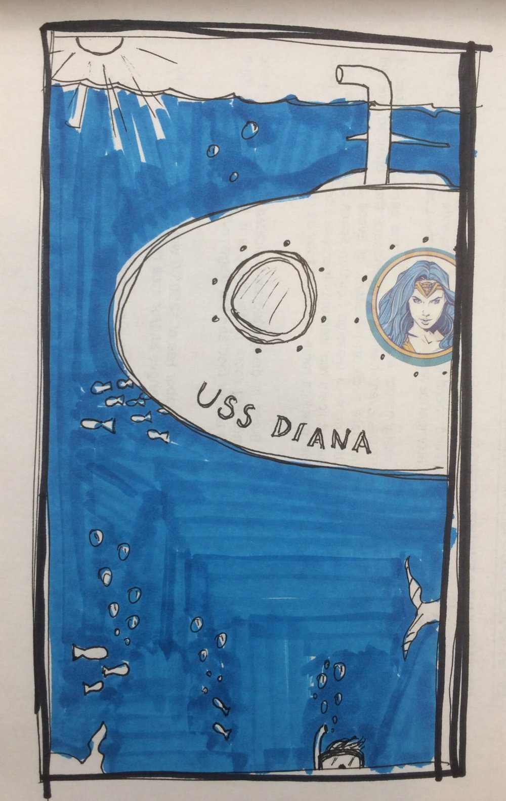 6. July 30, 2017 - Under the Sea