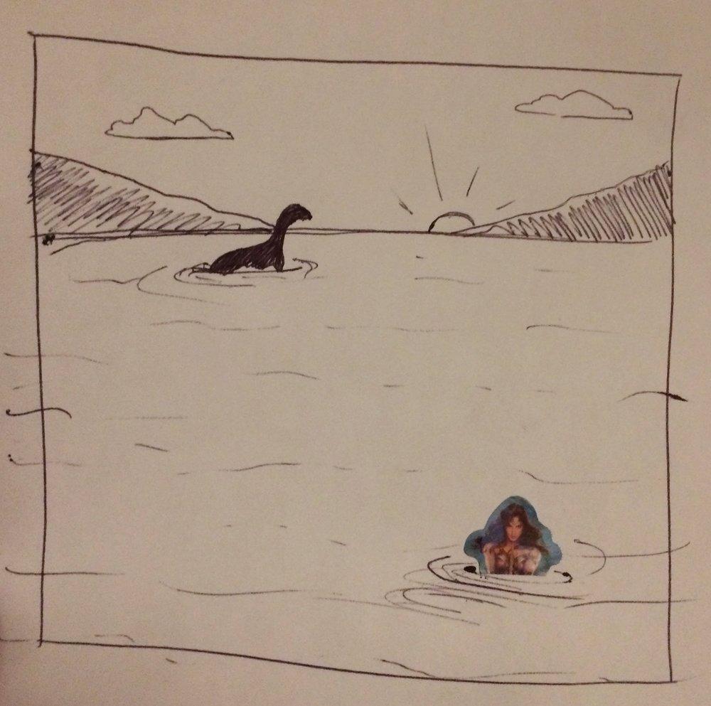 38. August 31, 2017 - Nessie