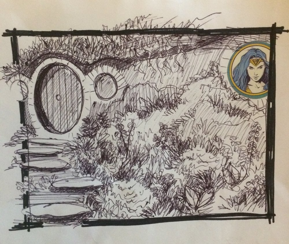 45. September 7, 2017 - In a hole in the ground there lived a hobbit.