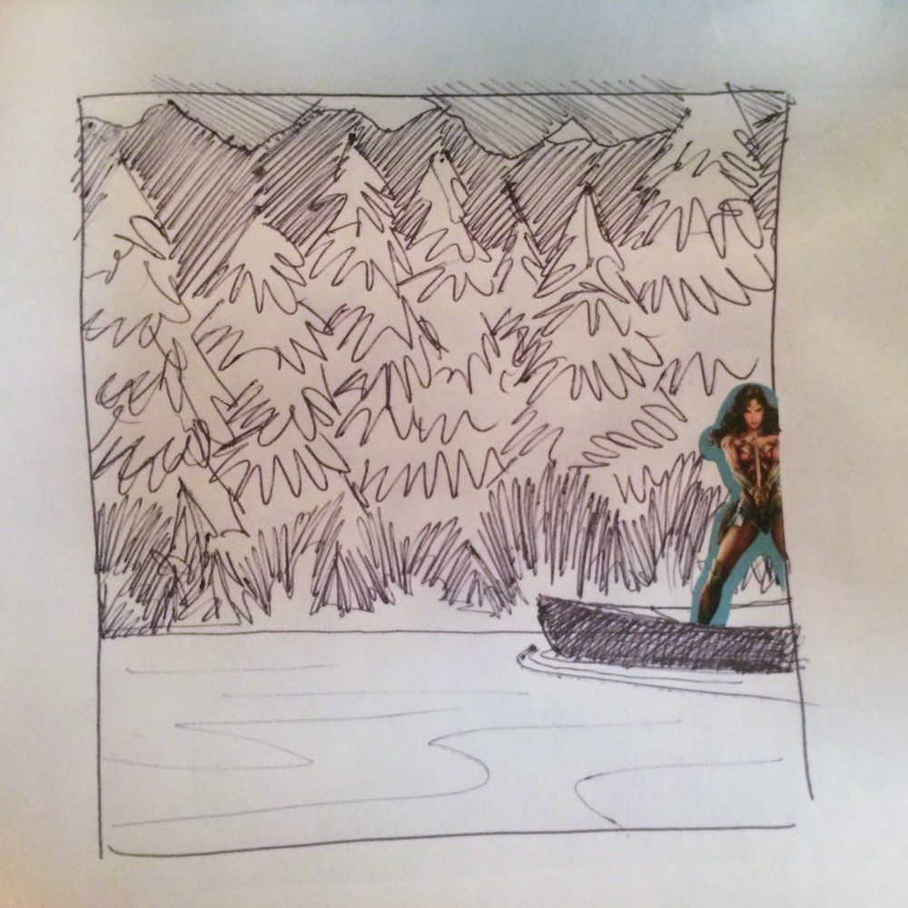 117. November 18, 2017 - A relaxing day in a canoe