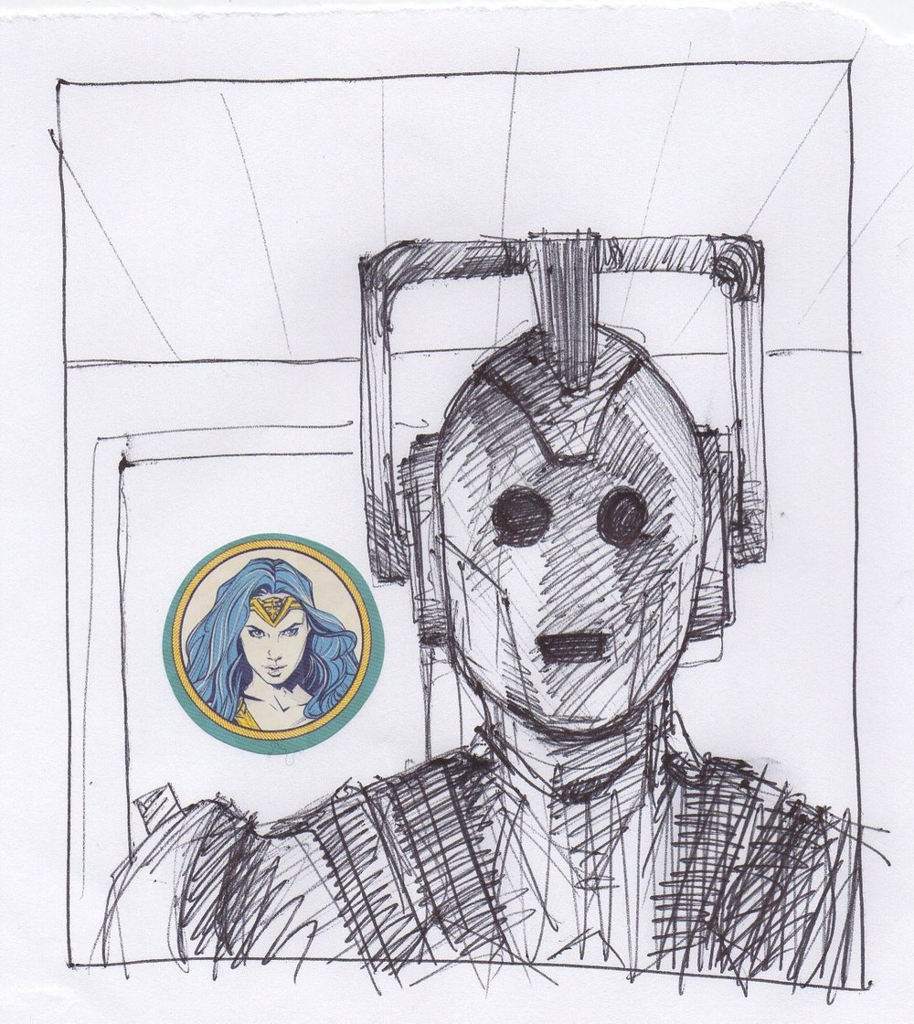217. February 26, 2018 - She would not be assimilated.
