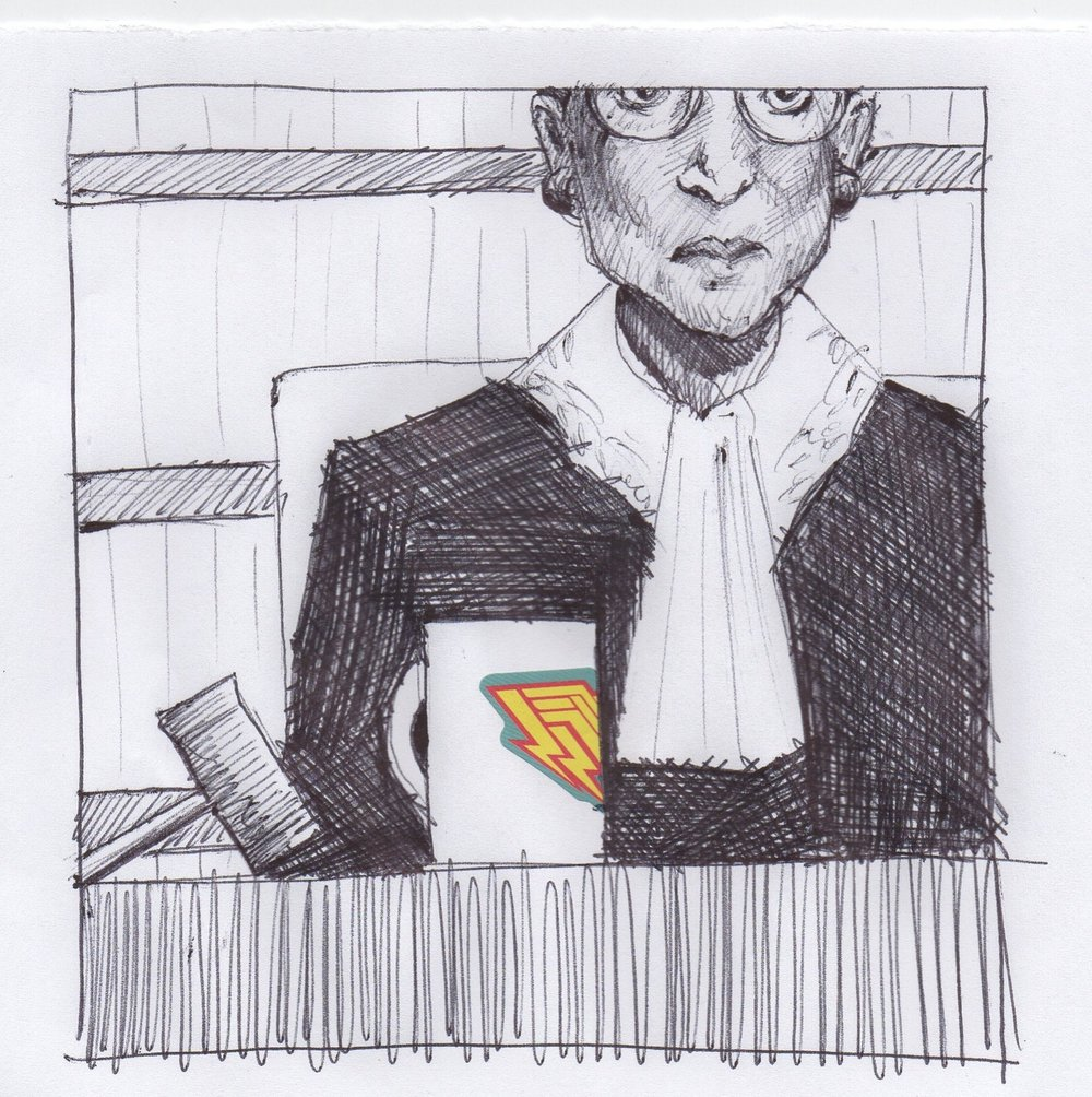 """221. March 2, 2018 - """"When I'm sometimes asked when there will be enough [women on the Supreme Court] and I say 'when there are nine,' people are shocked..."""