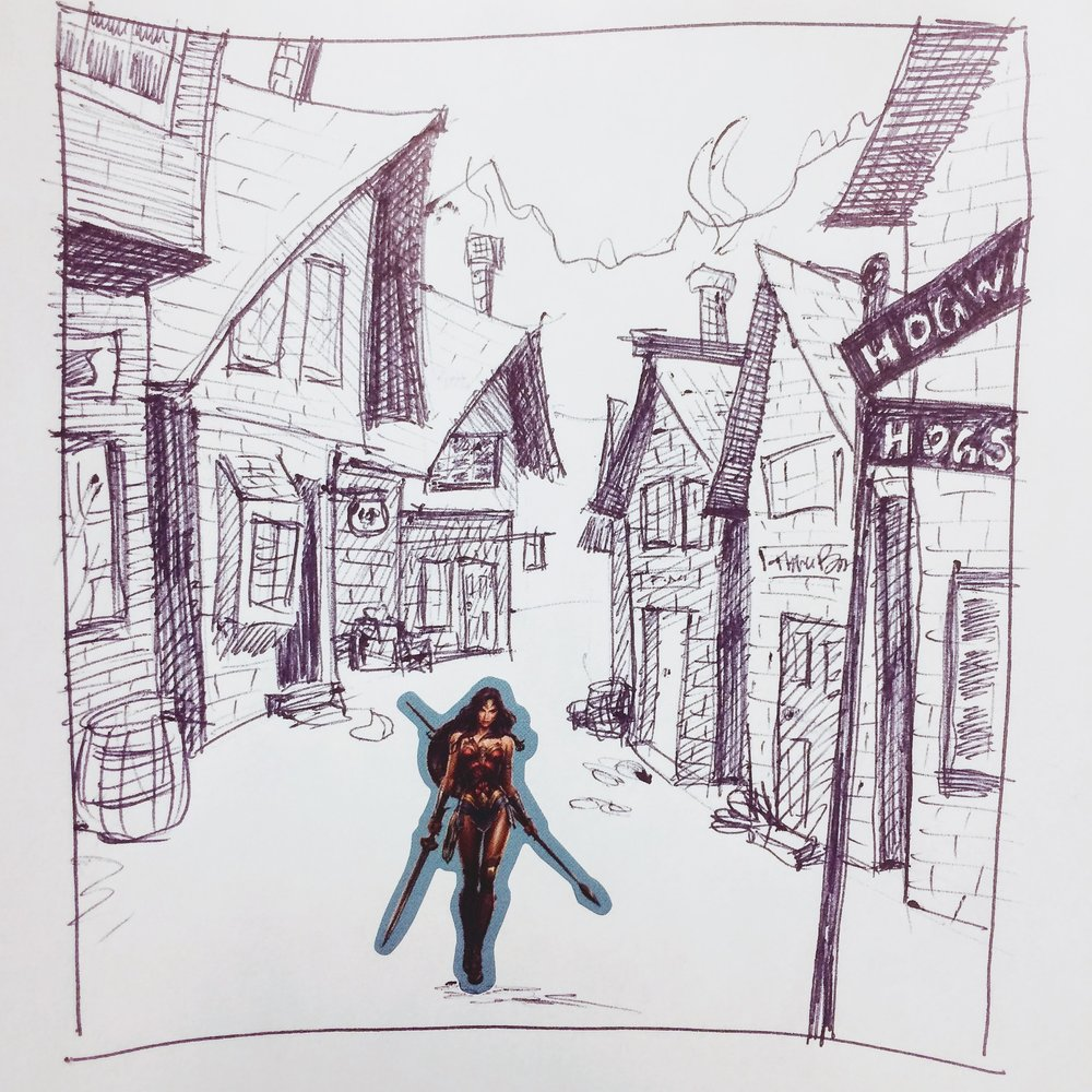 290. May 10, 2018 - Which way to The Three Broomsticks?