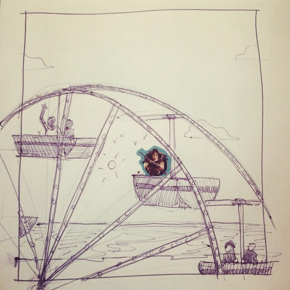 294. May 14, 2018 - Ferris wheel