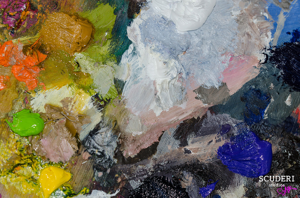 Jules Cozine's Paint Palette