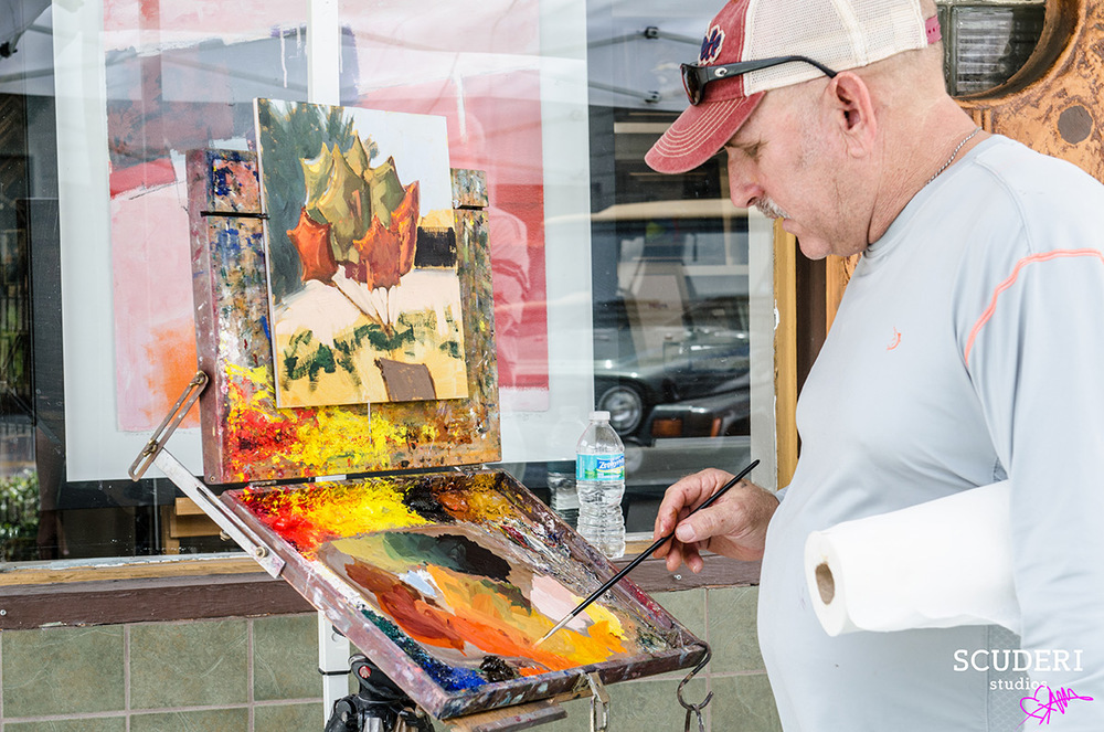 Artist Robert Simone