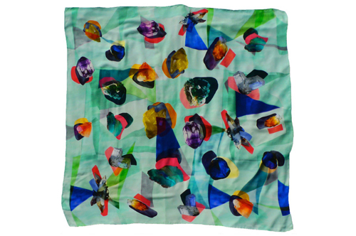 Designer Scarves by Charlotte Linton on The Patternbase