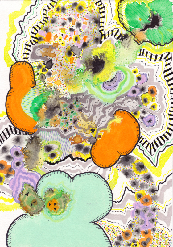 Bloom and Burst, Small Bloom Series, 2013