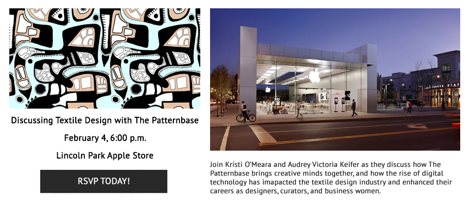 The Patternbase Presentation at the Apple Store in Lincoln Park