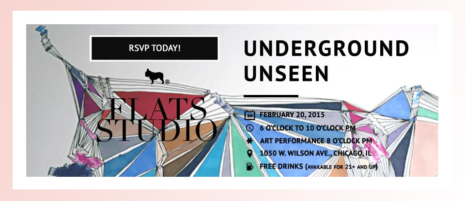 FLATSstudio: Underground Unseen | VAM Magazine Launch Party