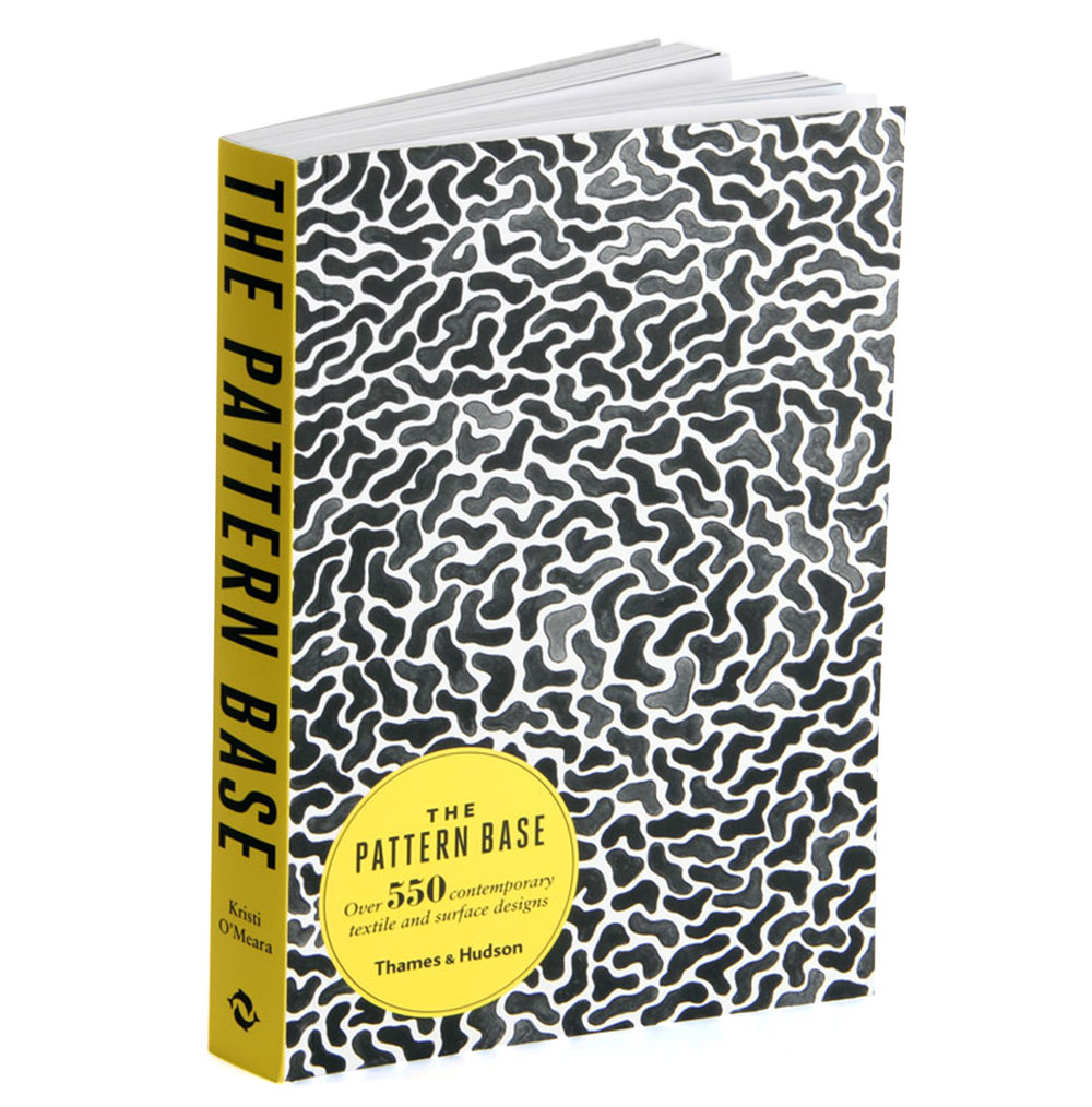 The Pattern Base Book - Over 550 Contemporary Textile & Surface Designs   Thames & Hudson