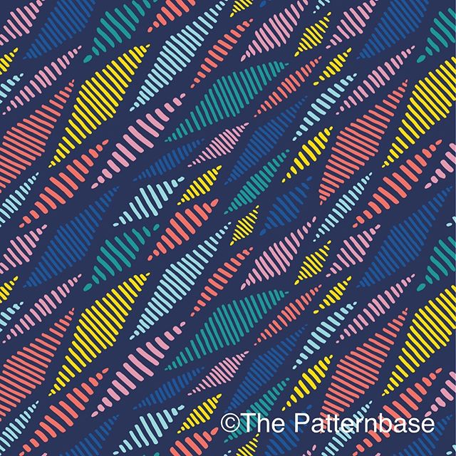 We've been working on a new collection of prints for children's apparel. This one's called 'Kite'. Visit thepatternbase.com to view our full print catalog 🖊