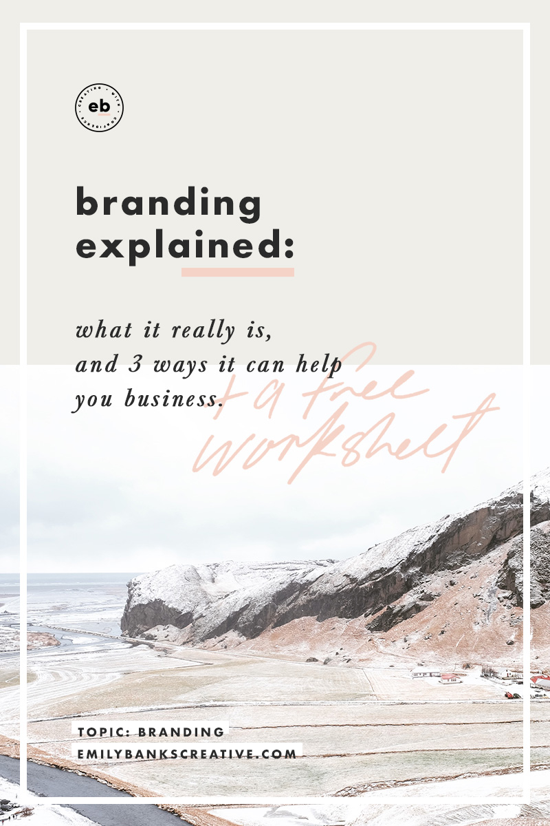 Discover the #1 reason you're struggling to come up with a 'brand' - plus a free worksheet!