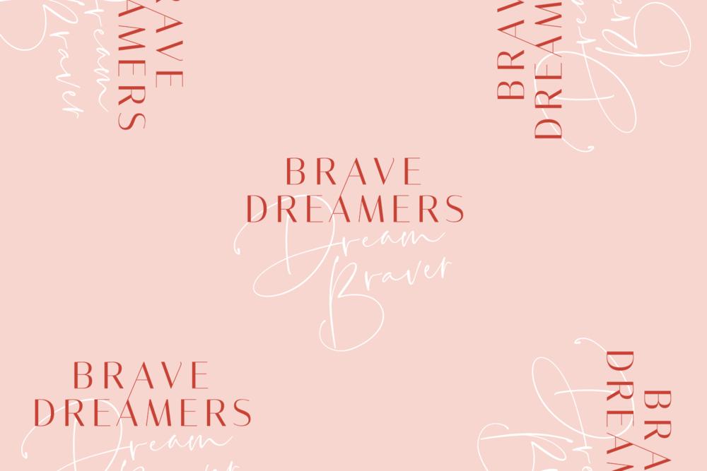 Brave Dreamers - Starter Branding by Emily Banks Creative