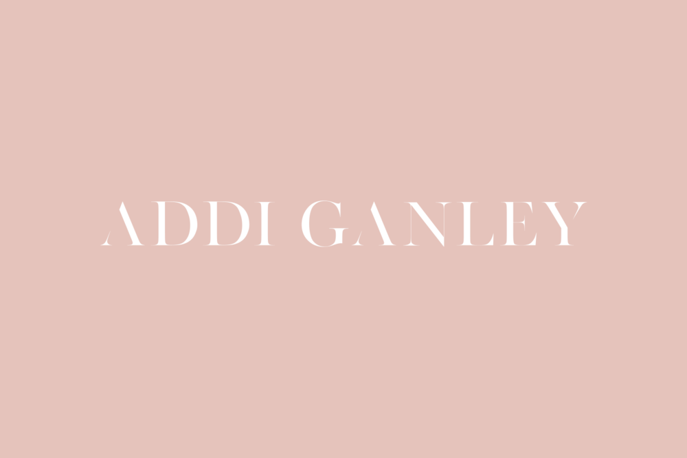 Addi Ganley - Signature Branding by Emily Banks Creative