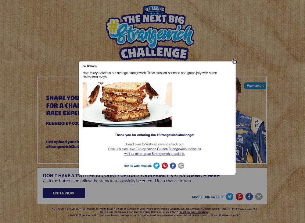 Strangewich manual contest entry