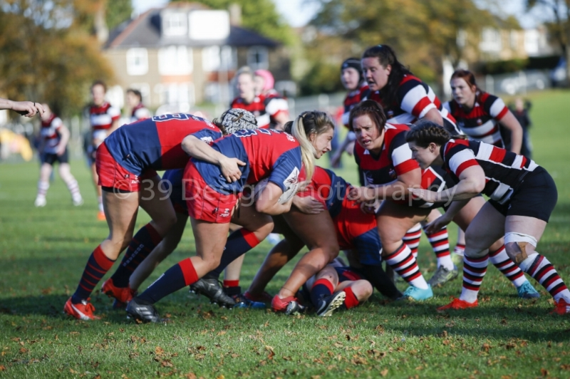 Action from Corstorphine Cougars v Stirling County. Image by 39 Design Photography