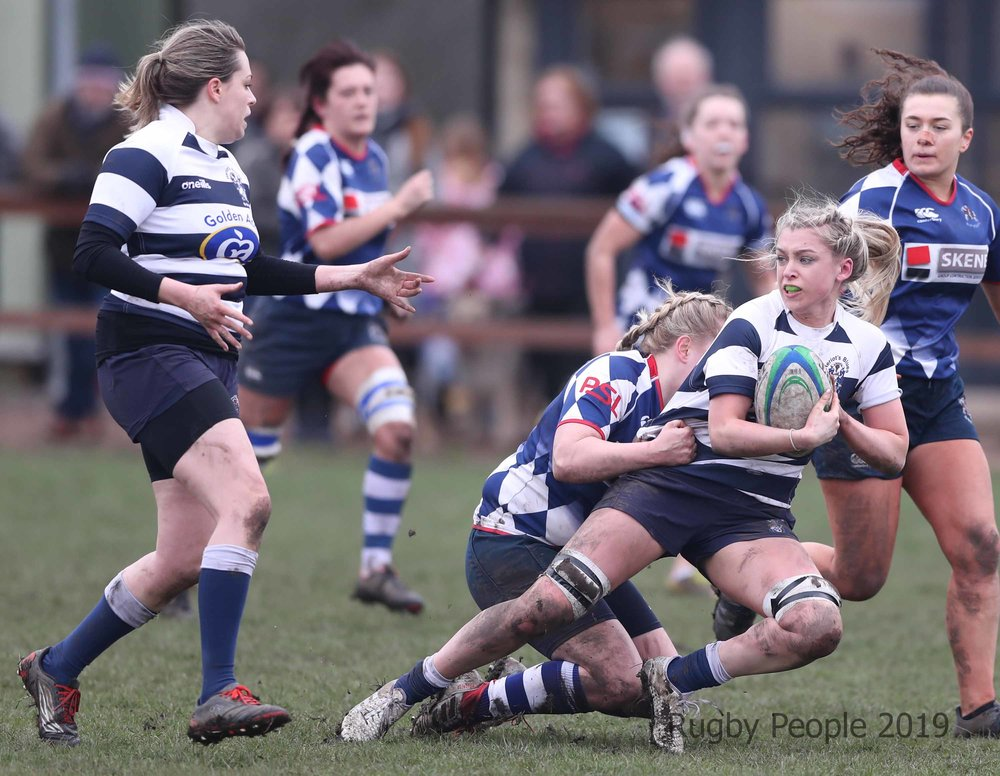 Action from Howe of Fife v Heriot's image by Rugby People