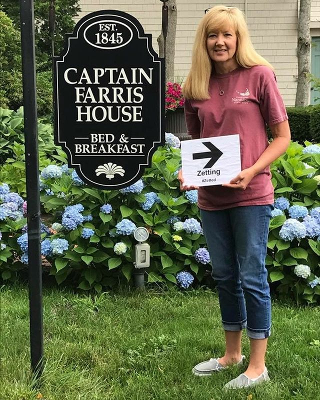 The York's had a great anniversary trip to Cape Cod! Their pictures were amazing! So many lighthouses, boats and beautiful flora! 💐🌸⛵️ They #Zetted, where will YOU Zett off to?  #Zetting #ZettingTravel #CapeCod #Travel