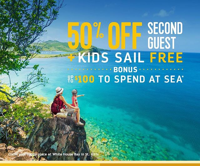 Calling all families! Check out this new promotion from @royalcaribbean! 50% off the second guest and your kids 12 and under sail free! Sounds like it's time to dust off the suitcases and go on a family vacation! 🏖👙🌊🚢 #ZettingTravel #Zetting #RoyalCaribbean #RCL #Travel #Family #FamilyVacation