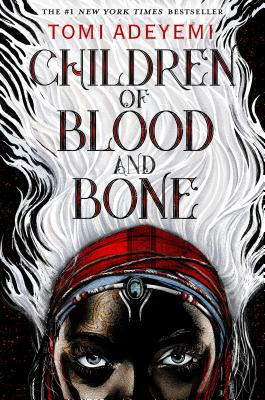 """Children of Blood and Bone by Tomi Adeyemi.  """"Incredibly engrossing and entertaining but beyond that this book made me confront a lot of uncomfortable ideas about power and insurgency. Not just for teens!"""" """"Wonderful Nigerian influenced world building with complex characterizations."""
