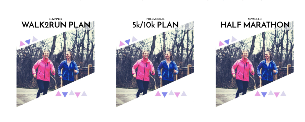 CLICK TO VIEW RUNNING PLANS