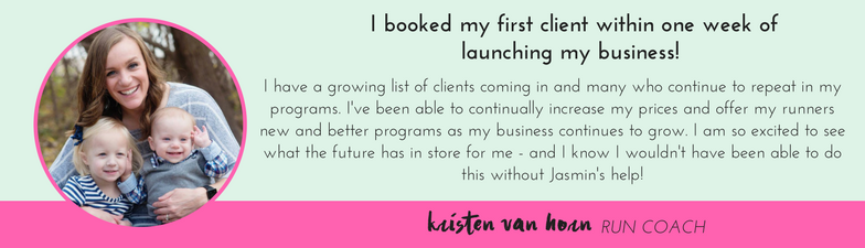 Kristen Van Horn Testimonial