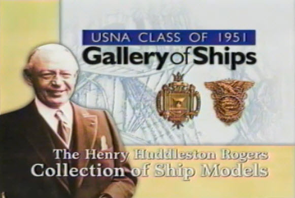 Henry Rodgers Ship Model Collection, Video