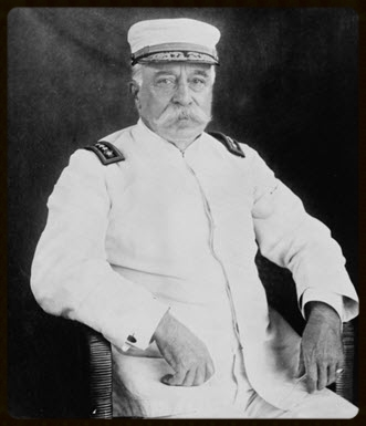 Admiral of the Fleet George Dewey, NOUS Commander General for 10 years