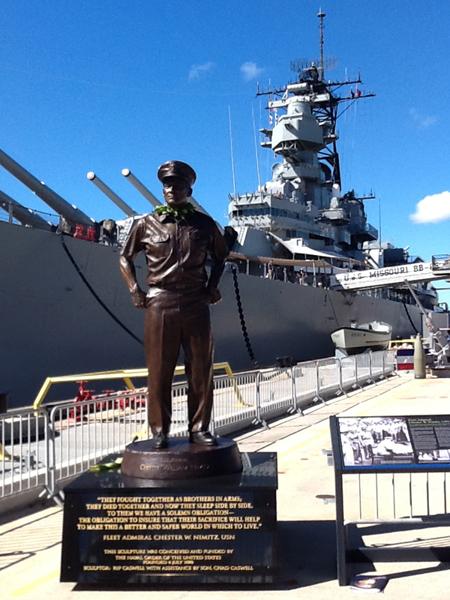 Nimitz_Statue
