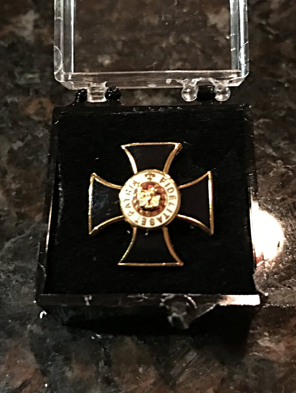 Cross Lapel Pin - $10.00