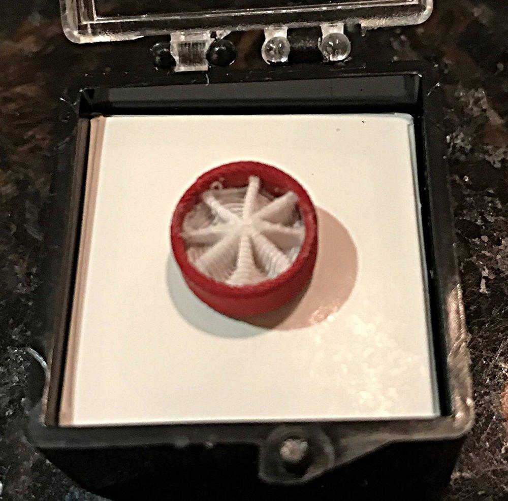 Rosette Lapel Pin - $15.00