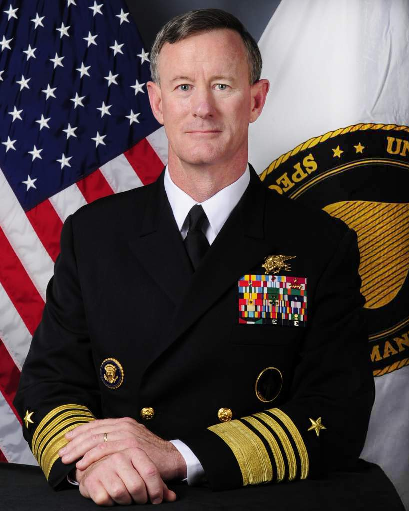 ADM William H. McRaven, USN (Ret.), Commander, U.S. Special Operations Command