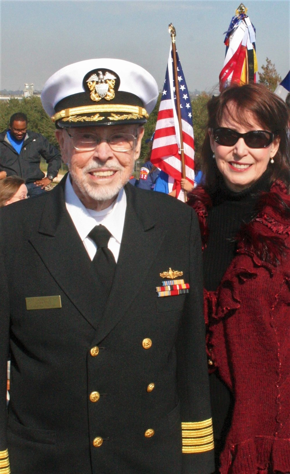 CAPT Carter Conlin at Pearl Harbor Ceremony, 2017