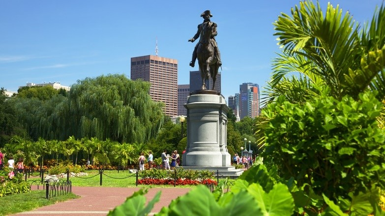 Boston Common dates from 1634 and is the oldest city park in the United States