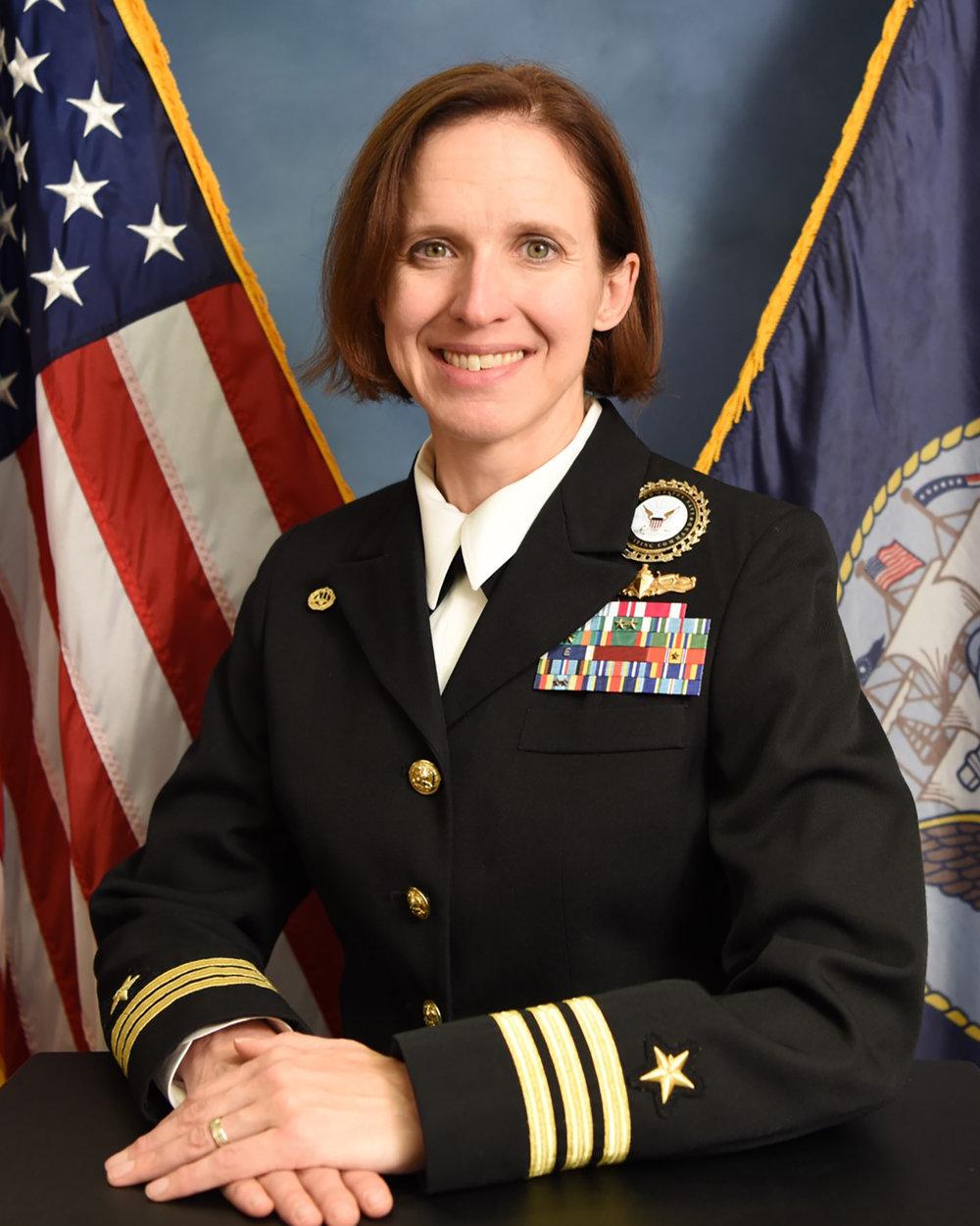 CDR Jennifer Free, USN