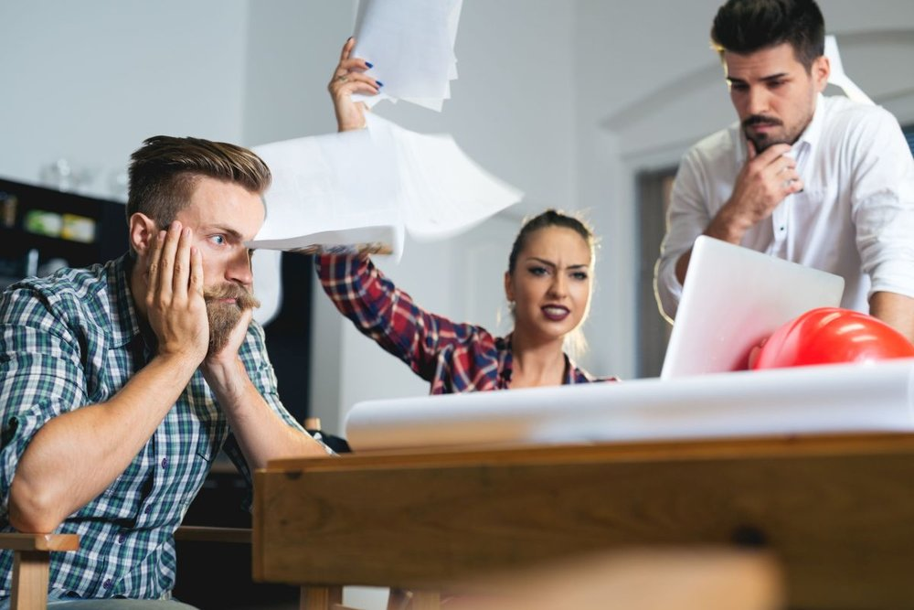Feuds tear through the office like a hurricane