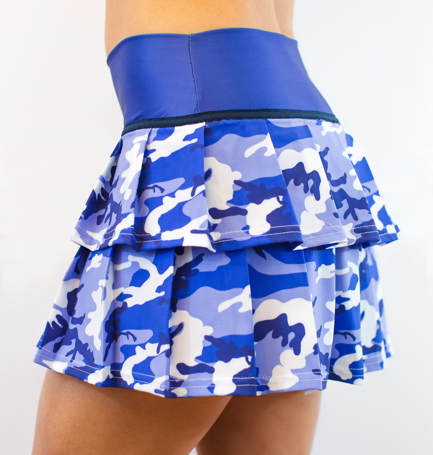 473c1580e ** New Style ** LISA 2 TIER BLUE CAMO — Tennis Clothes, Faye+Florie
