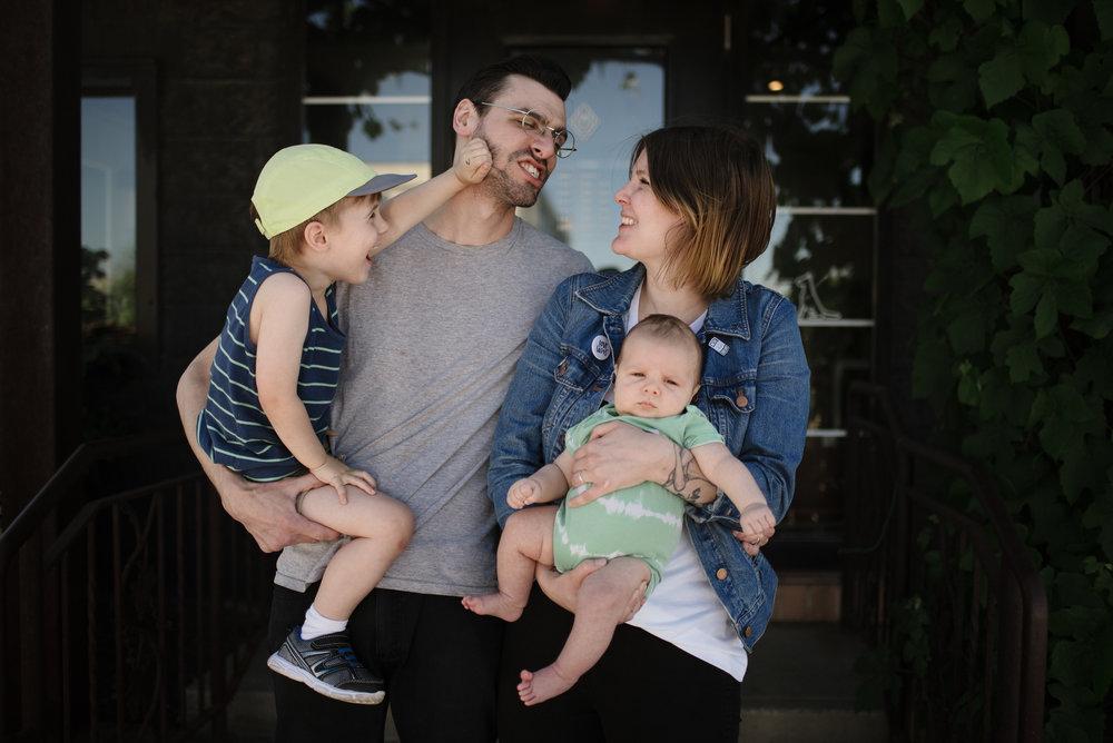 Cris Van Grol and Family
