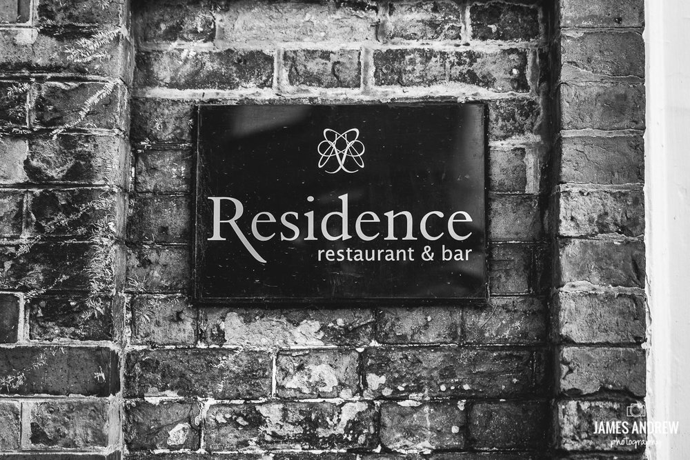 residence wedding venue cheshire sign
