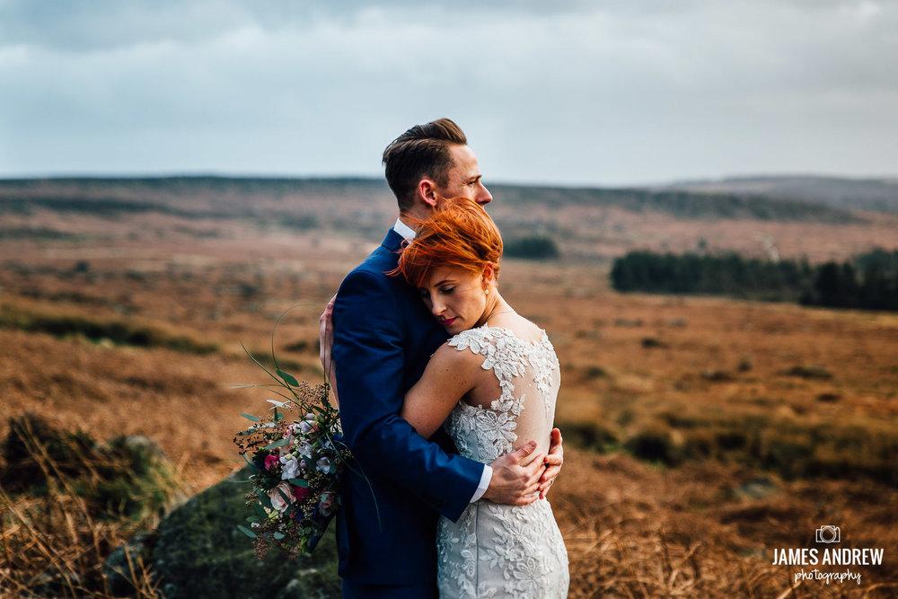 Outdoor wedding couple homespun diy vintage tipi national park