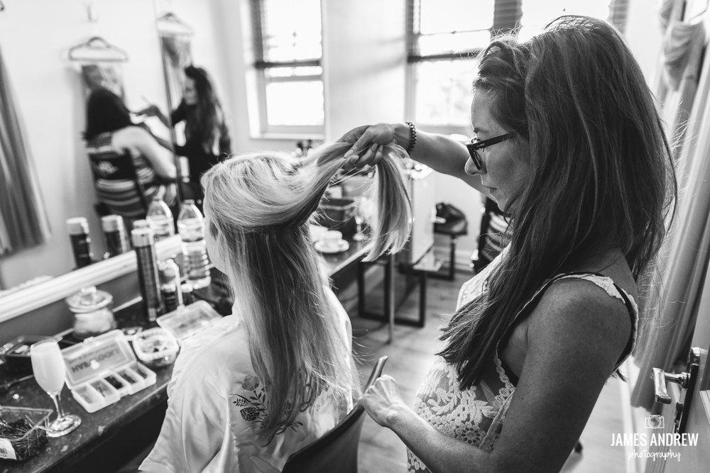 Tah dah hair styling Cheshire