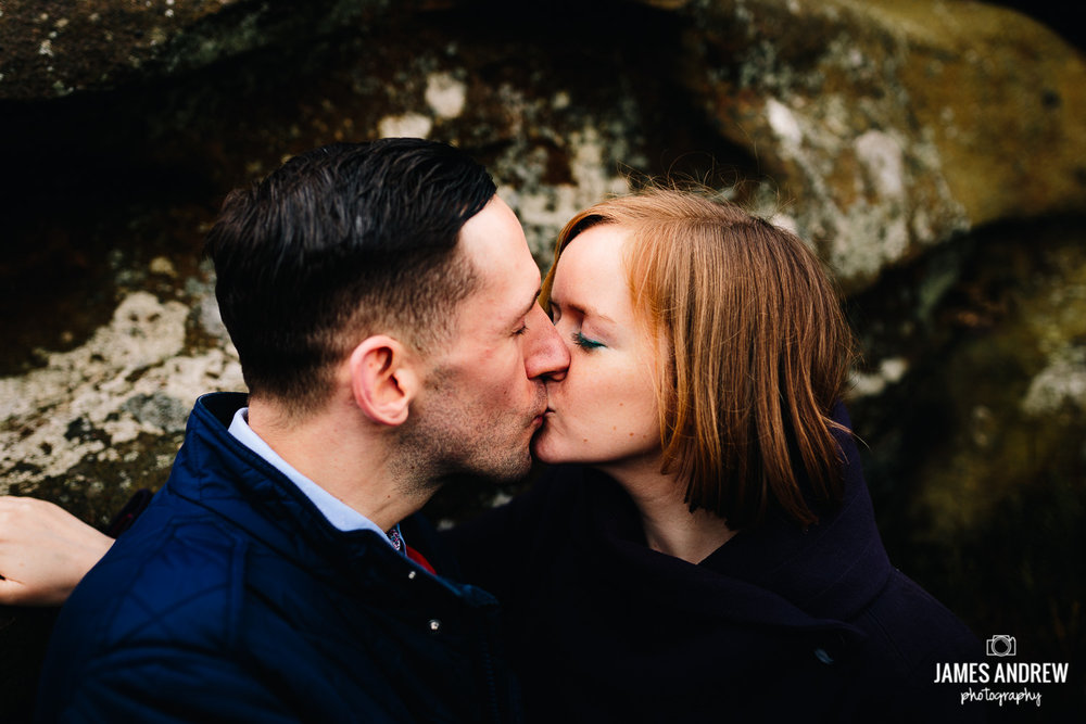 Engagement shoot near Leek Staffordshire