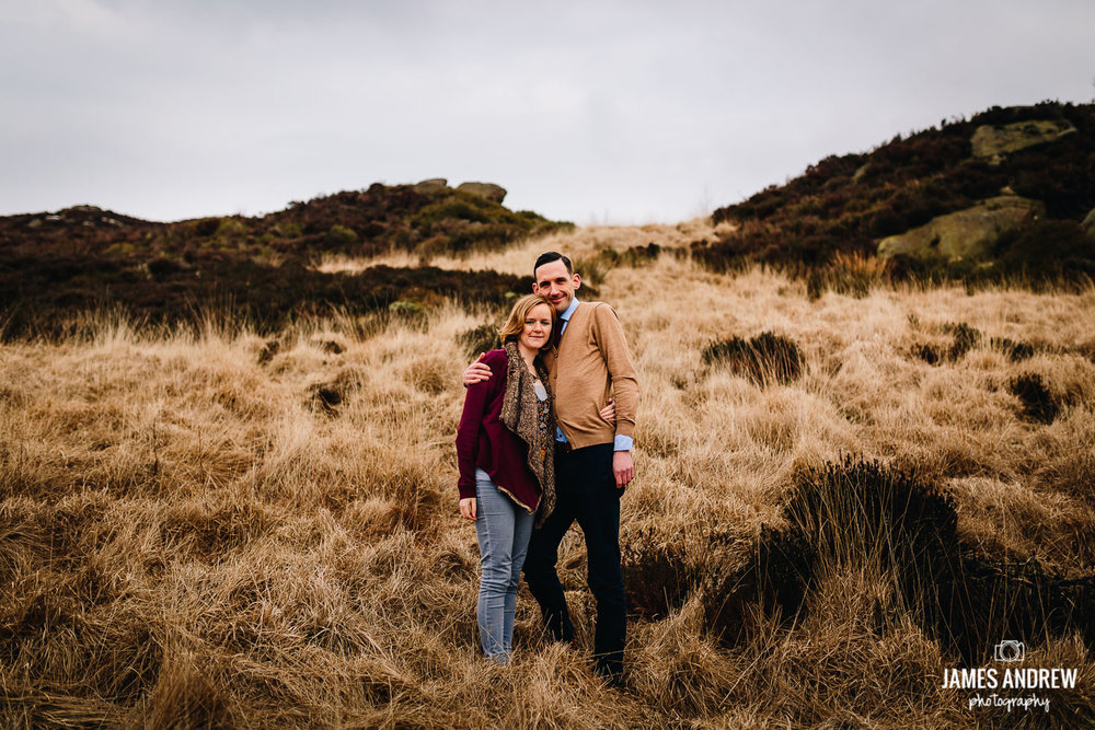 Couple engagement shoot Staffordshire